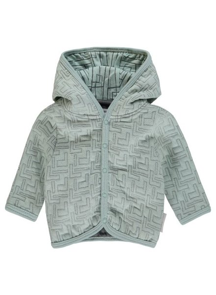 Noppies Cardigan sweat LS Terrell Color: grey mint
