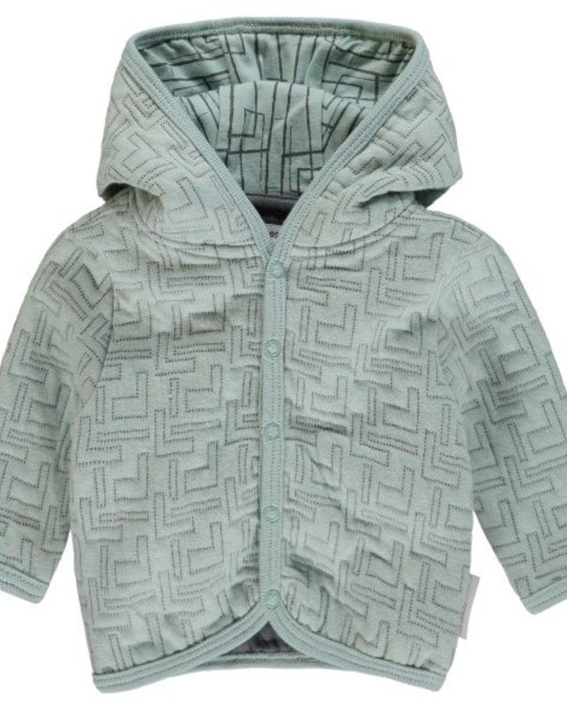 Noppies Cardigan sweat LS Terrell Color: grey mint