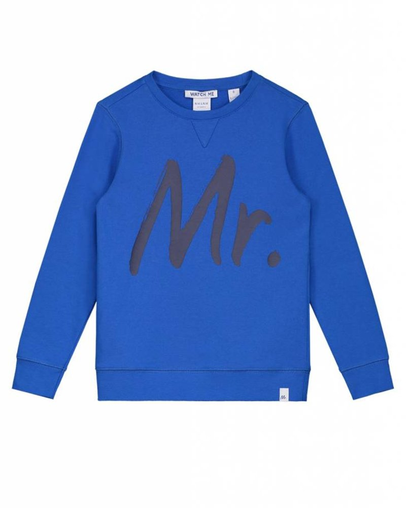 NIK & NIK Sweater George True blue