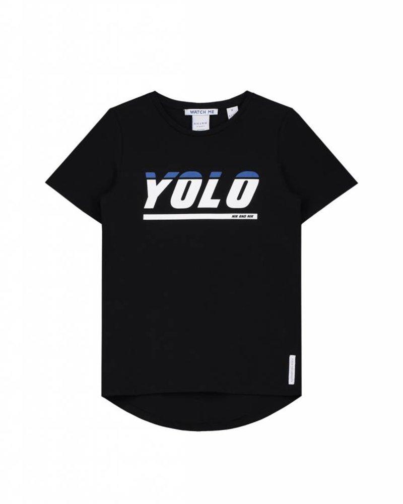 NIK & NIK Tshirt Yolo black