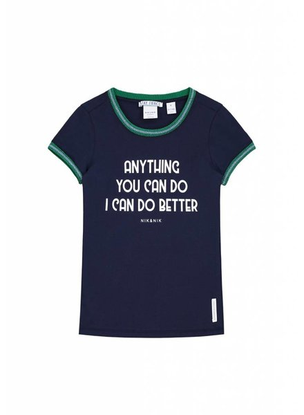 NIK & NIK Tshirt Anything dark blue