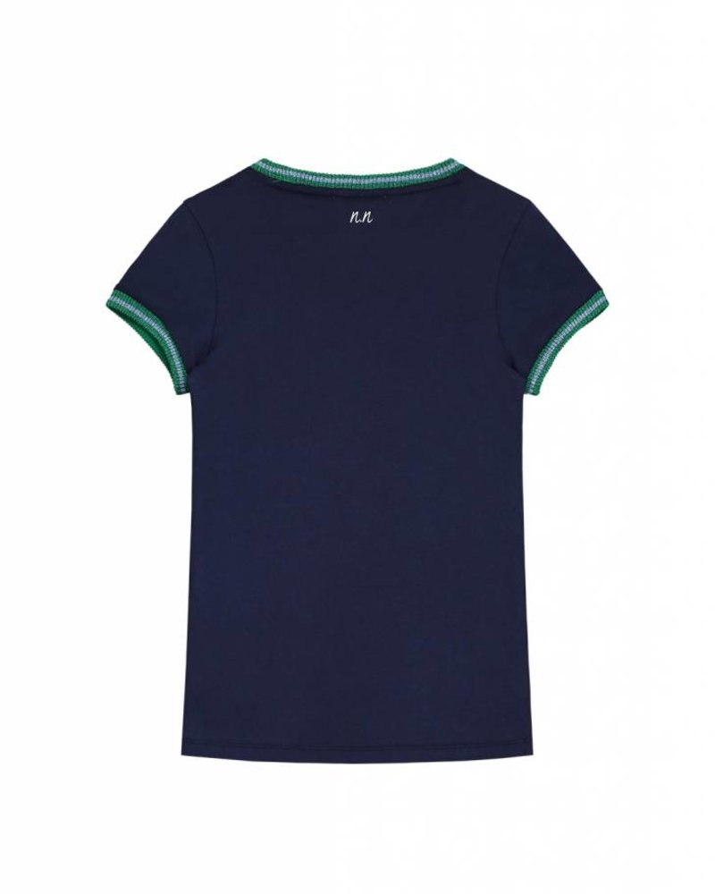 NIK & NIK Tshirt Anything dark blue