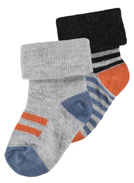Noppies B.Socks 2 pack Trinity Color: smoke