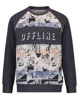 Noppies Boys sweater longsleeve Talay Color: charcoal