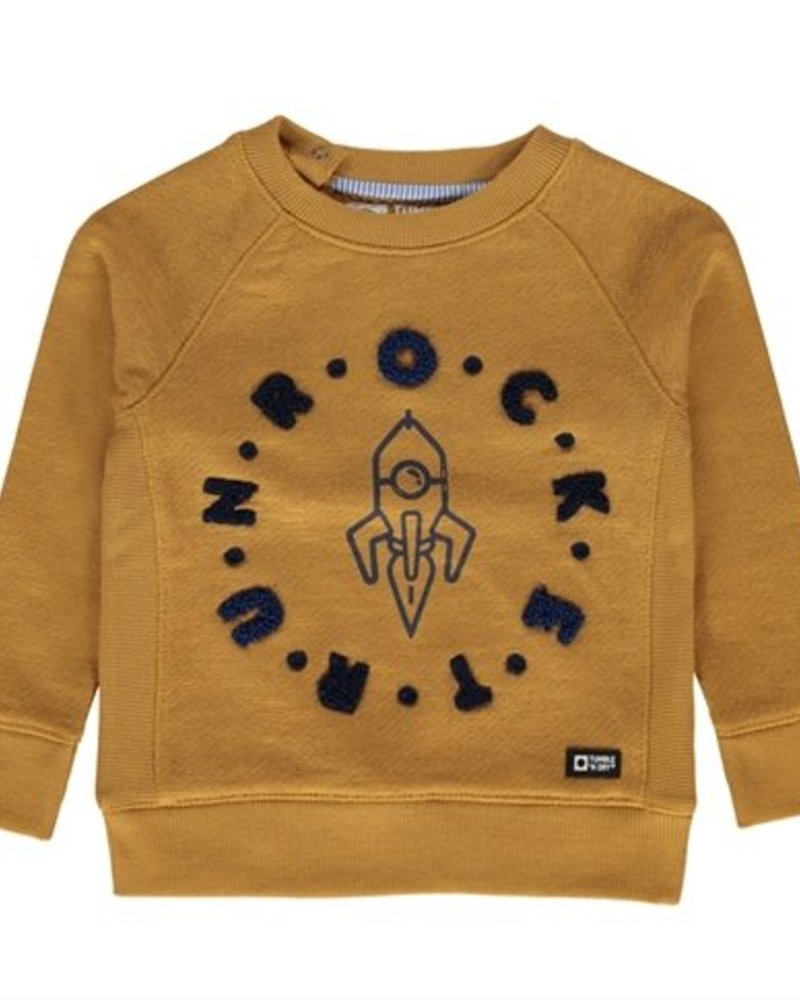 Tumble 'n Dry Boys sweater Kingsley Color: mustard yellow