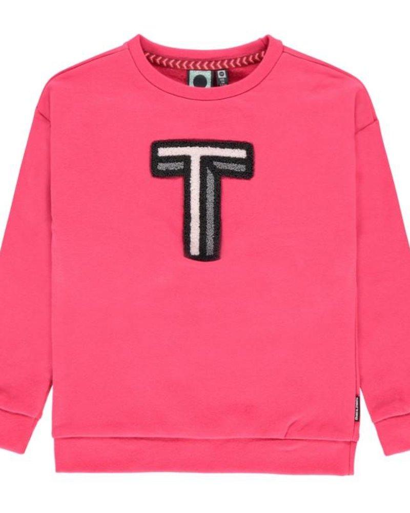 Tumble 'n Dry Girls sweater Vivian Color: Pink