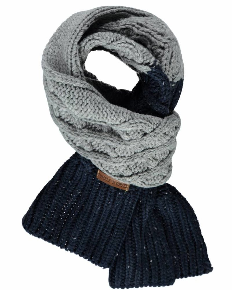 Tumble 'n Dry Boys sjaal Oris Color: black iris