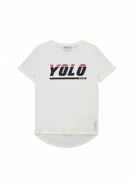 NIK & NIK Tshirt Yolo white