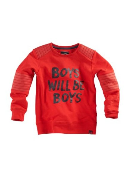 Z8 Boys sweater Basillis Color: red pepper