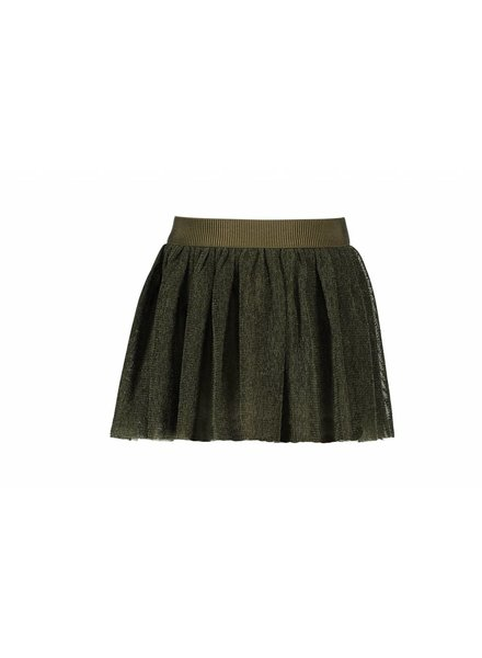 Like Flo Flo girls mesh melee skirt army