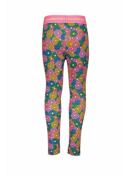 Kidz Art Girls bonded legging allover print