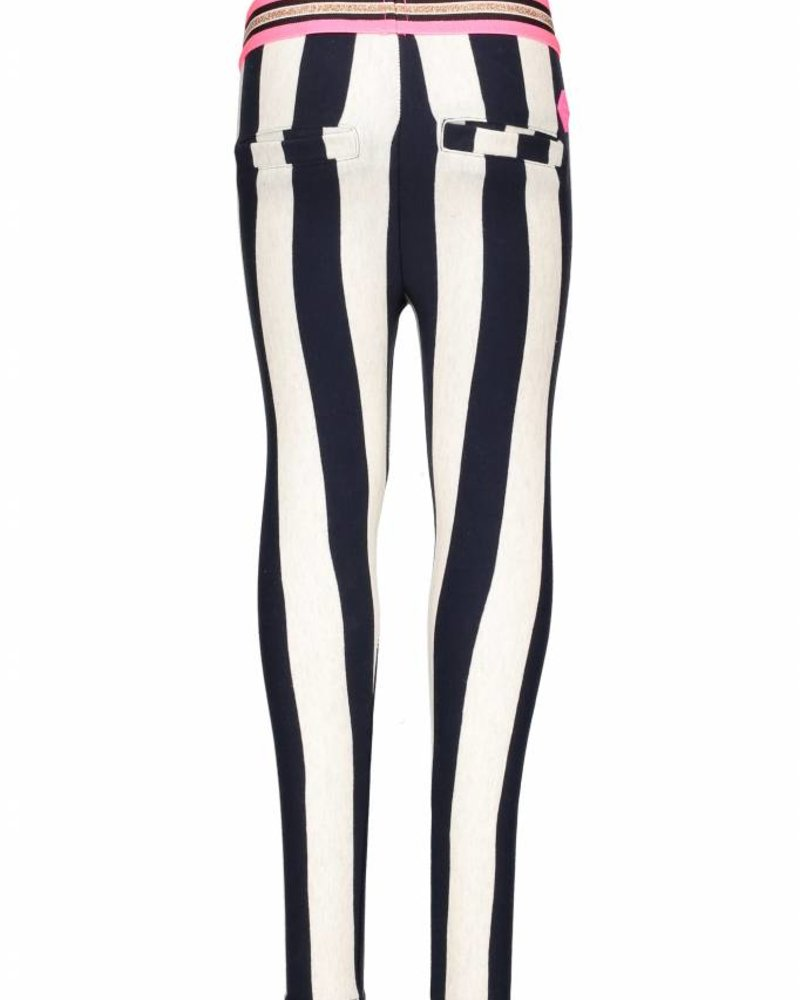 B.nosy Girls YD stripe pants Color: stripe/peacock