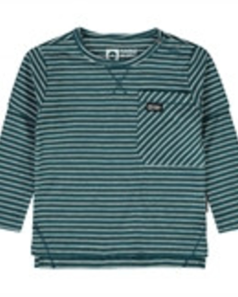Tumble 'n Dry Boys Kumar Lo t-shirt Color: green petrol