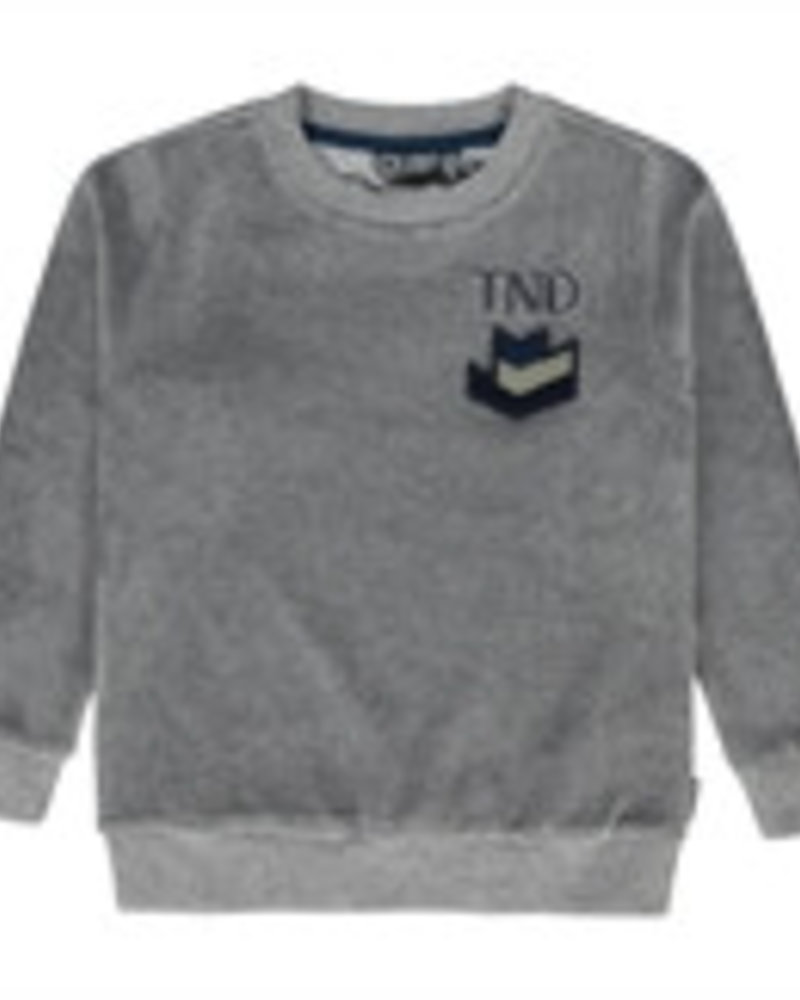 Tumble 'n Dry Boys sweater Rykman Color: grey middle melange