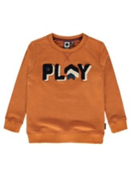 Tumble 'n Dry Boys sweater Osmel Color: brown rust