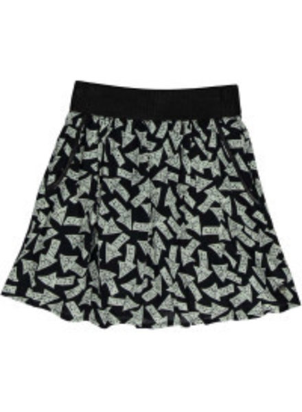 Frankie & Liberty Girls Glow skirt  Arrow Color: black/white