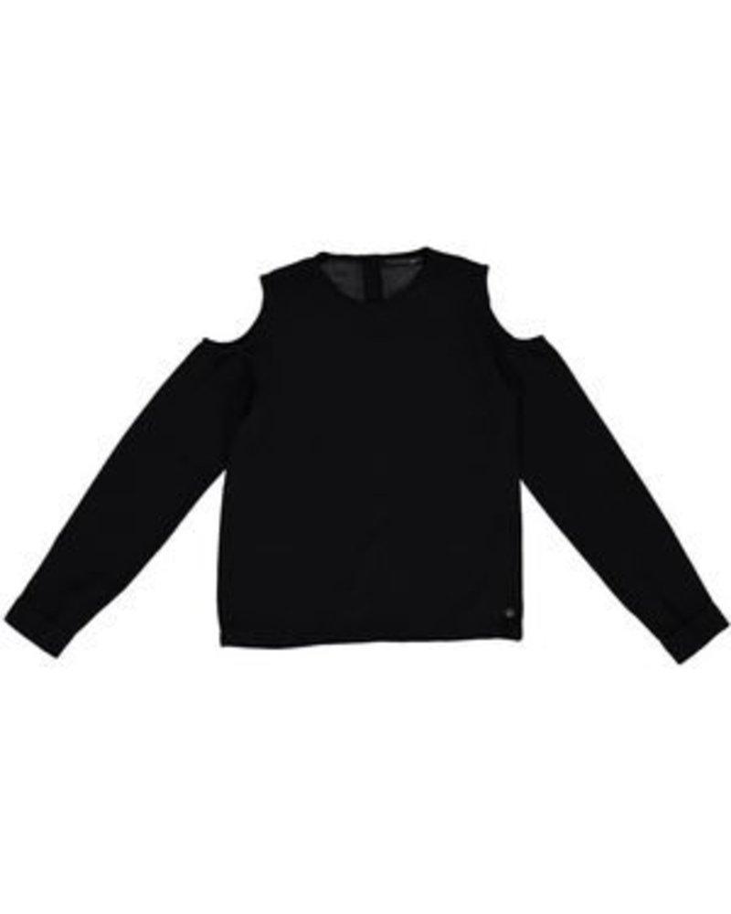 Frankie & Liberty Girls Glow blouse Color: black