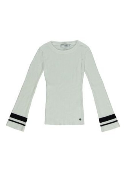Frankie & Liberty Girls Pullover Color: black/off white