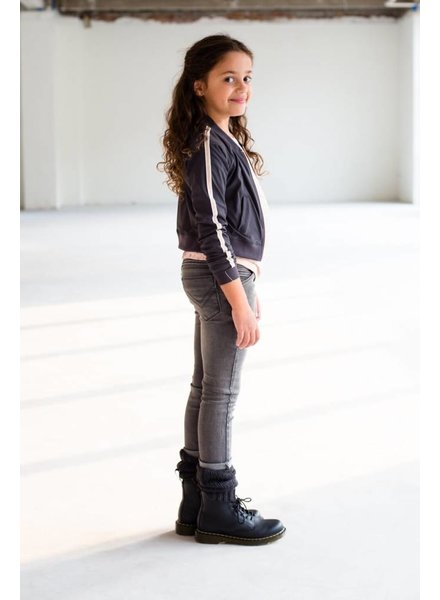 Levv Labels Girls Jacket Amarante Color: dark grey