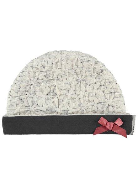 Girls Hat Ves Color: optic white