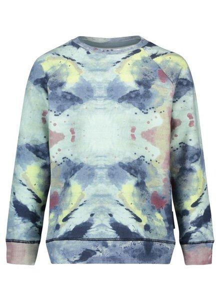 Boys sweater Vinnie aop Color: olive