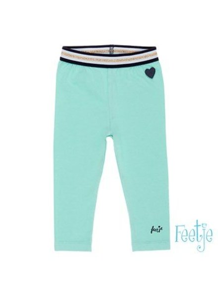 Feetje Baby legging Sisterhood Color: mint