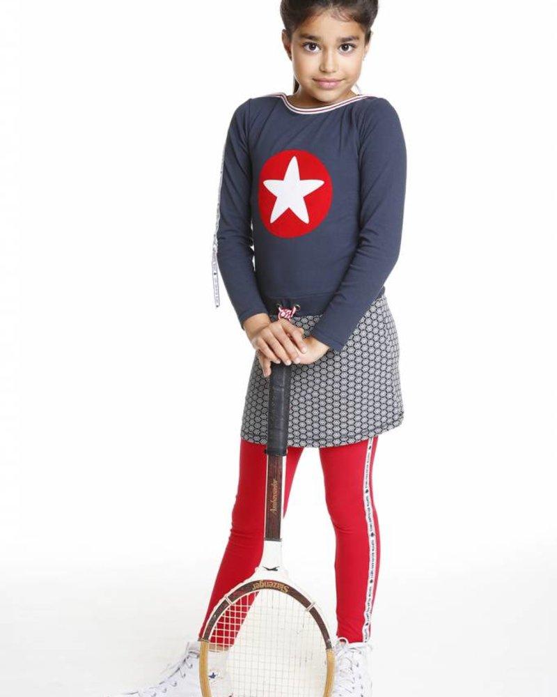 TOPitm Dress Sandy boatneck