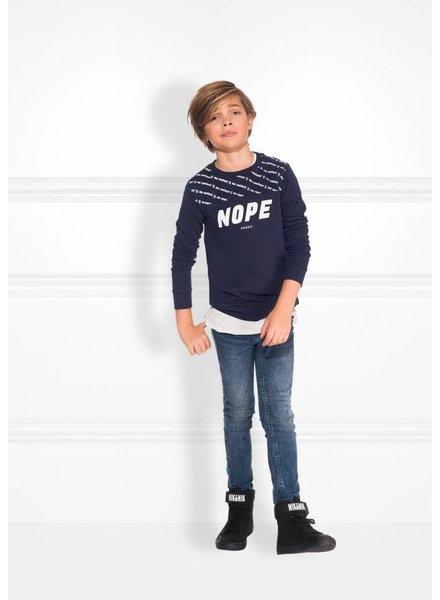 NIK & NIK Nope sweater dark blue