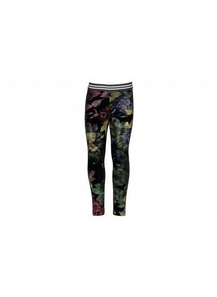Like Flo Flo girls flower velours legging