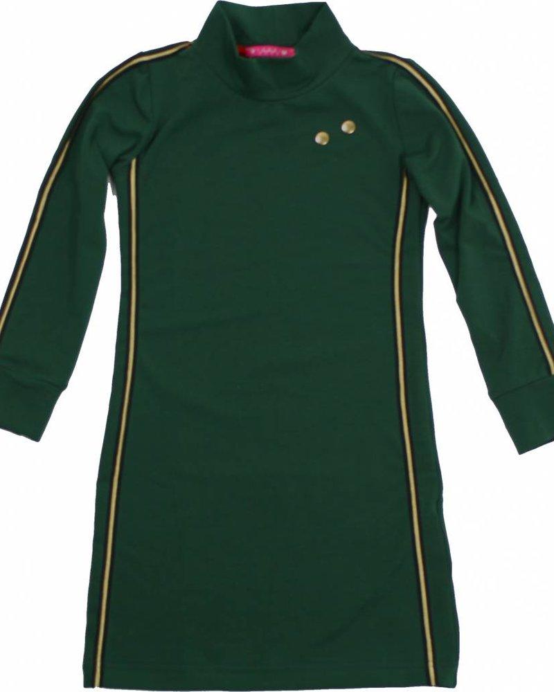 Waaaw Dress turtleneck groen
