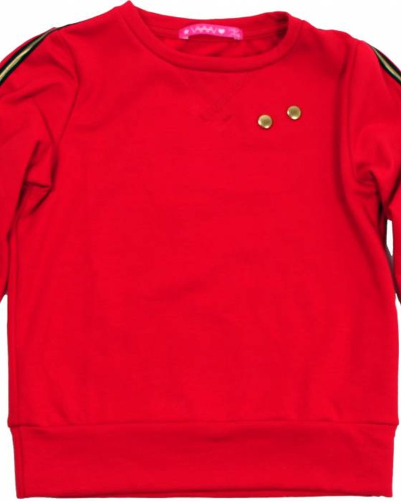 Waaaw Sweater rood