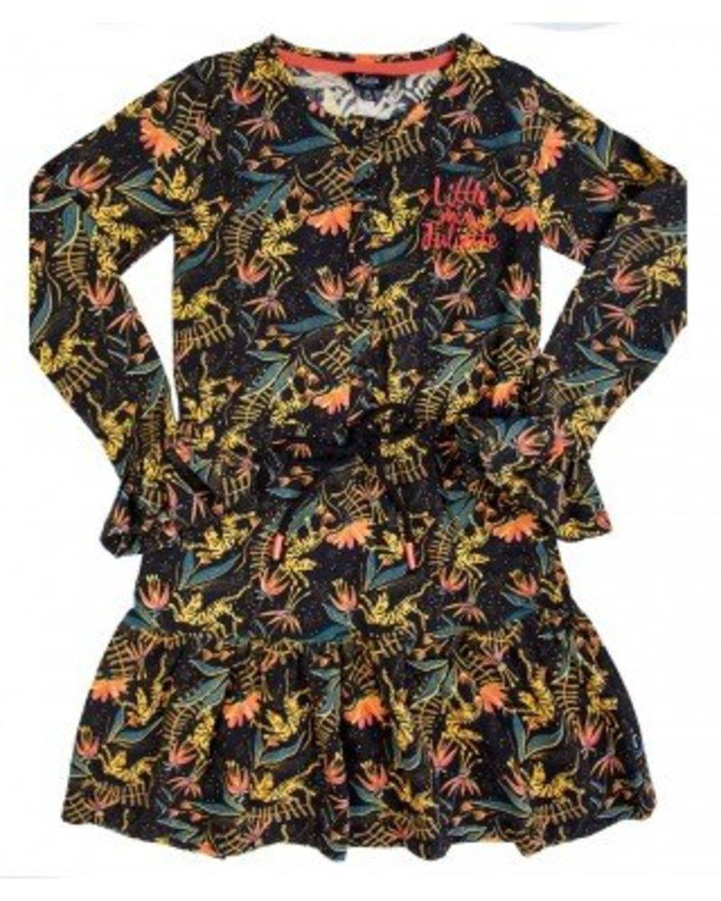 Little Miss Juliette Elvy Dress Color: black