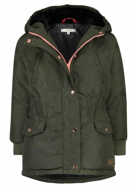 Noppies Girls Jacket vasyl Color dark army