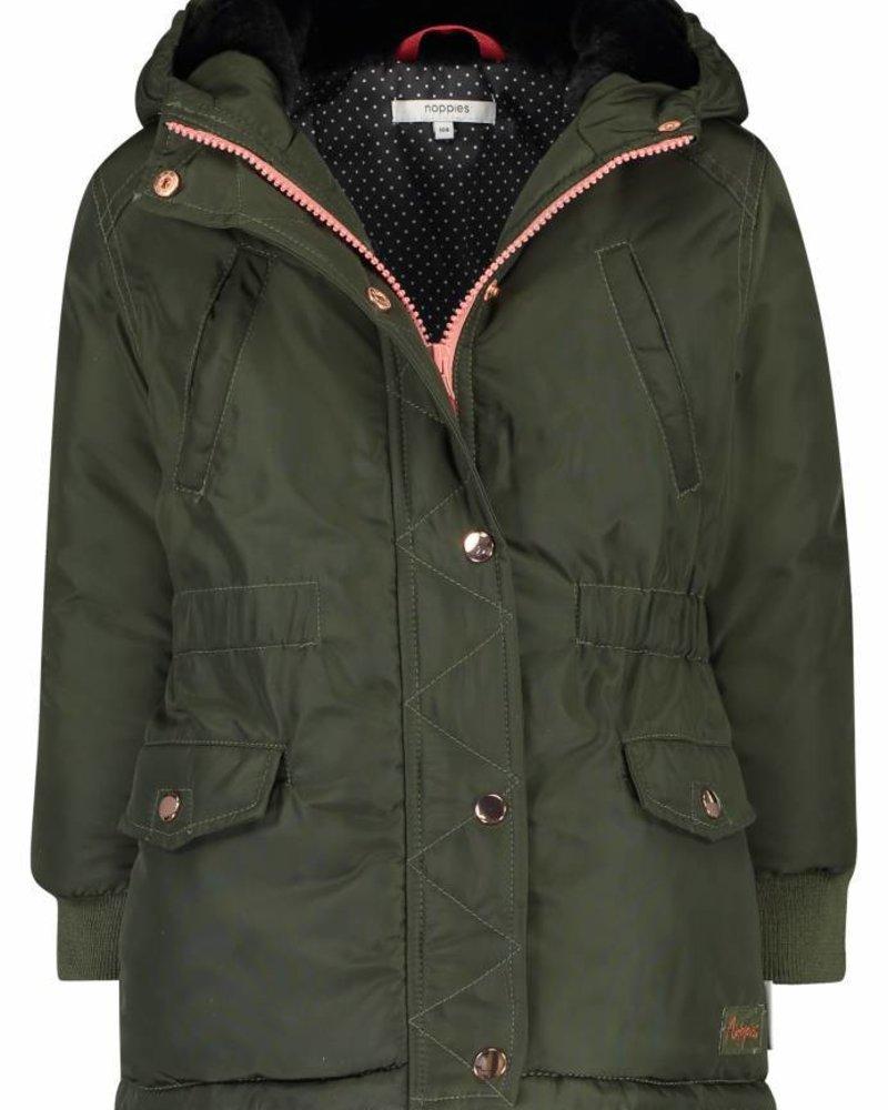 Noppies Girls Jacket vasyl Color dark army