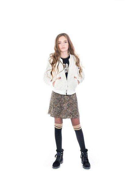 Frankie & Liberty Girls Overknee Sock Color: black/brown