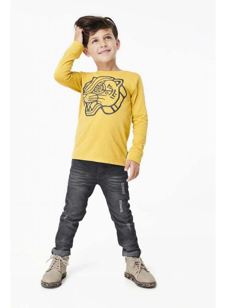 Tumble 'n Dry Boys Tee longsleeve Color: yellowbee