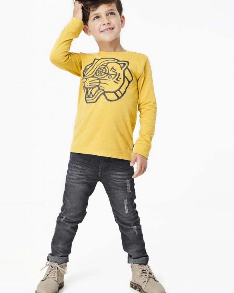 Tumble 'n Dry Boys Tee longsleeve Color: yellowbee