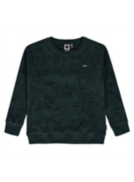 Tumble 'n Dry Boys sweater Oguz Color: green dark
