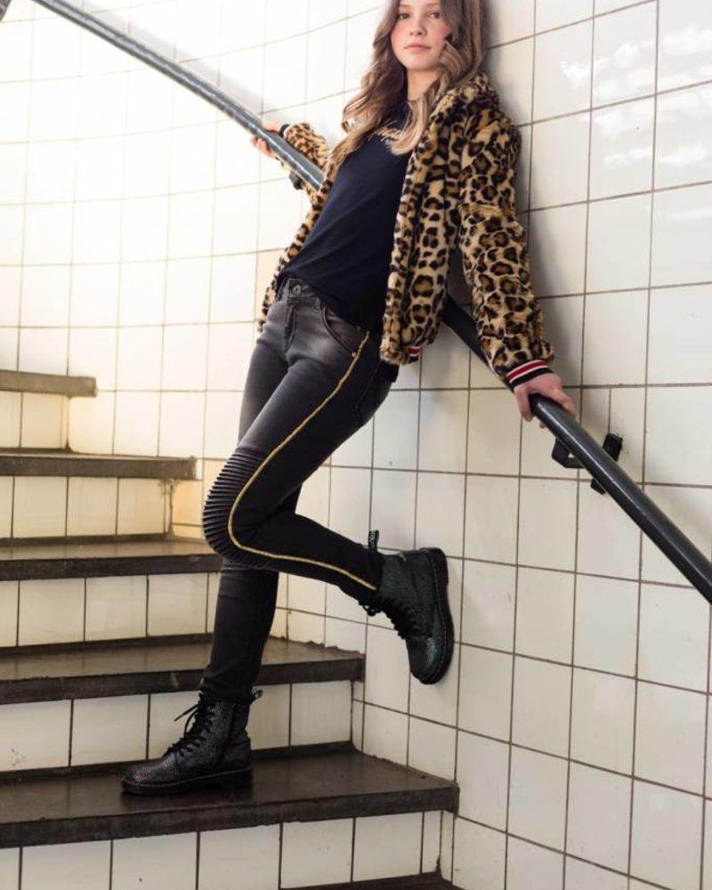 Levv Labels Girls jeans April Color: black