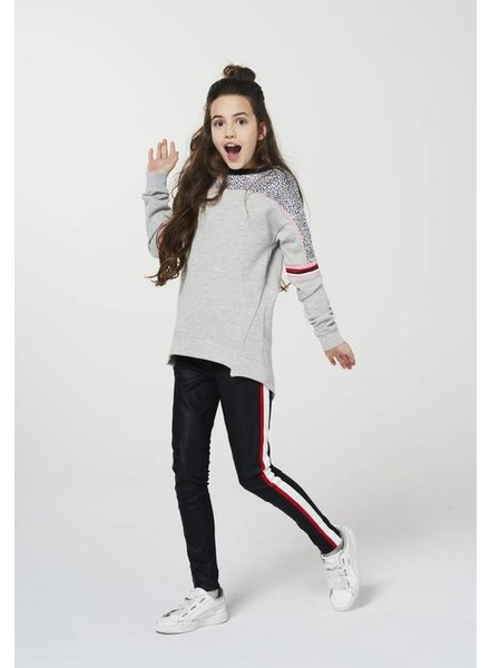 AI&KO Girls sweater Brisas Color: light grey