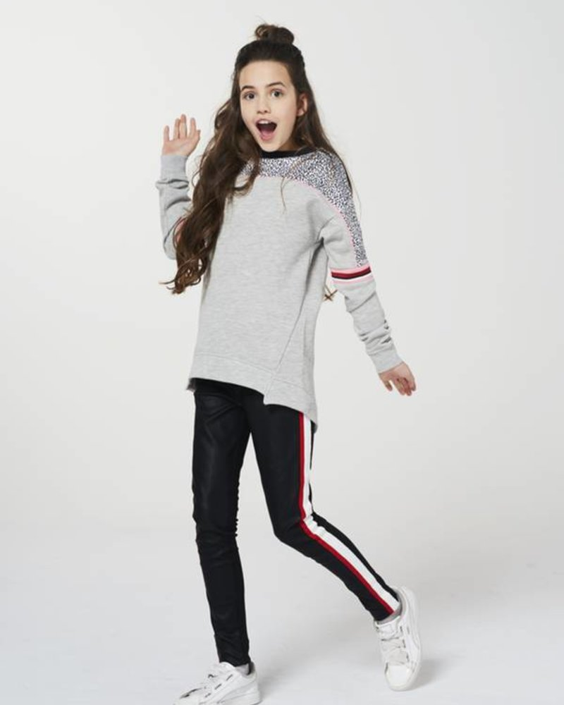 AI&KO Girls sweater Brisas Color: light grey