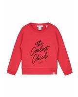 NIK & NIK Girls sweater Coolest Color: soft red