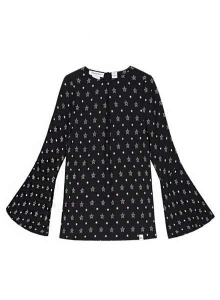 NIK & NIK Girls blouse Joya Color: black