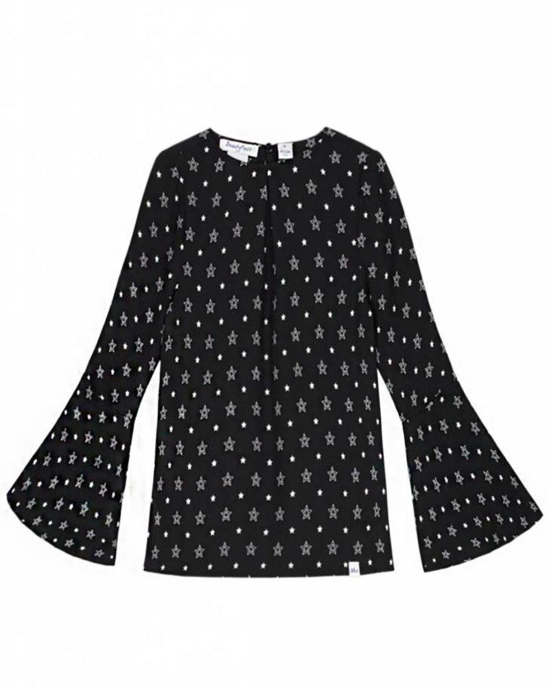 NIK & NIK Girls blouse Joya Color: black