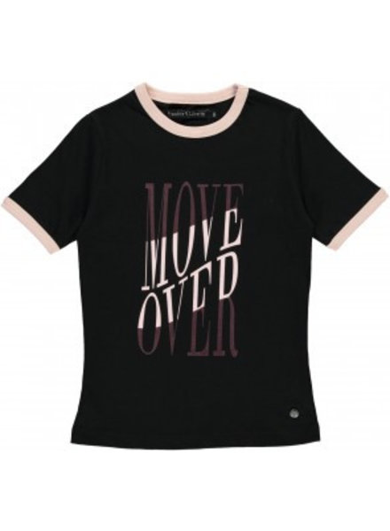 Frankie & Liberty Girls T.shirt Heather Color: black