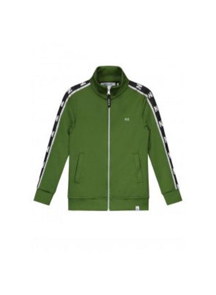 NIK & NIK Boys Track Jacket Ryan Color: wood green
