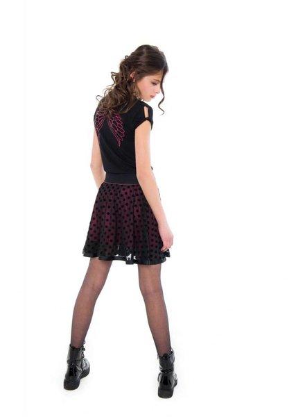 Frankie & Liberty Girls T.shirt Hanna Color: black