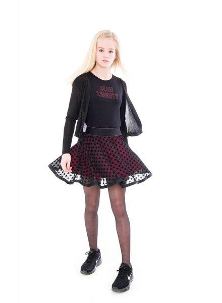 Frankie & Liberty Girls Cardigan Honey Color: black