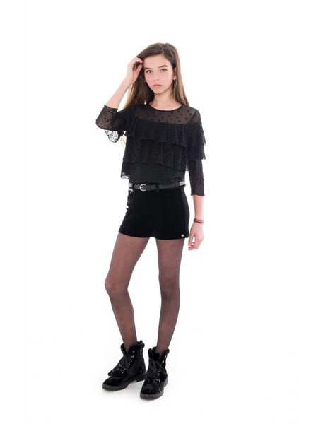 Frankie & Liberty Girls short Ghia Color: black