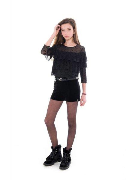 Frankie & Liberty Girls short Ghia Color: black